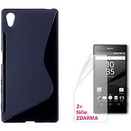 CONNECT IT S-Cover Sony Xperia Z5 black - Mobile Phone Case