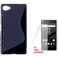 CONNECT IT S-Cover Sony Xperia Z5 Compact black - Mobile Phone Case