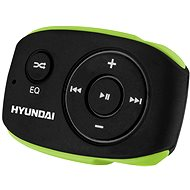 Hyundai MP 312 4GB black-green - MP3 Player