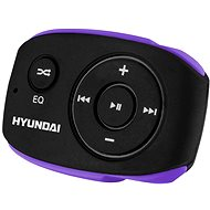 Hyundai MP 312 8GB Black/Purple - MP3 Player