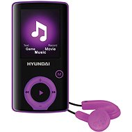 Hyundai MPC 883 FM 16 GB purple - MP4 Player