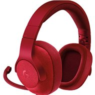 Logitech G433 Surround Sound - Red - Headphones with Mic