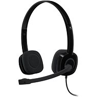 Logitech Stereo Headset H151 - Headphones with Mic