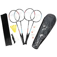 Badminton set for 4 players with net - Outdoor Game