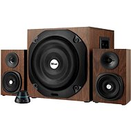 Trust Vigor 2.1 Subwoofer Speaker Set - Brown - Speakers