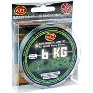 WFT - Cord GLISS 6KG 0,12mm 300m Green - Line