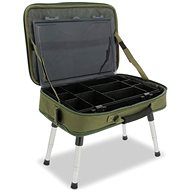 NGT Box Case Tackle Bag with Bivvy Table - Table