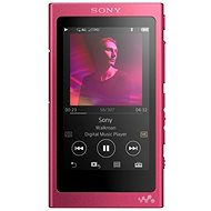 Sony Hi-Res WALKMAN NW-A35 pink - MP3 Player