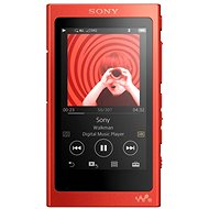 Sony Hi-Res WALKMAN NW-A35 red - MP3 Player