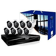 KGUARD 16CH Hybrid DVR + 8X Colour Outdoor Camera - Camera System