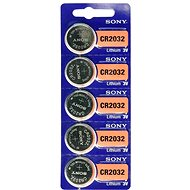 SONY CR2032 lithium 3V (5pcs) - Cell Batteries