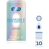 Invisible DUREX Extra Thin Extra Sensitive 10 pcs - Condoms