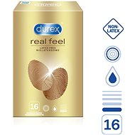 DUREX Real Feel 16 ks - Condoms
