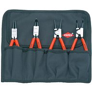 Knipex Set of pliers on snap rings, 4-piece - Pliers set