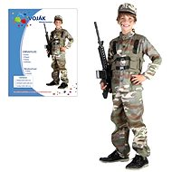 Carnival Dress - Soldier size M - Kids' Costume
