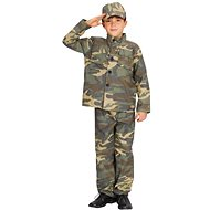 Carnival Costume - Soldier, size S - Kids' Costume