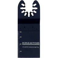 Kreator Cutting knife for wood / plastic / metal 34x40x1.4mm - Multi-functional knife
