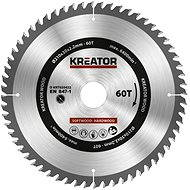 Kreator KRT020422, 210mm - Saw Blade for wood