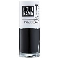 MAYBELLINE NEW YORK Color Show Nail Polish 489 Black 7ml - Nail Polish