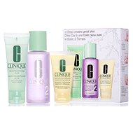 CLINIQUE 3-Step Skin Care Type 2 - Dry to Combination Skin - Face Care Set