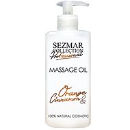 SEZMAR PROFESSIONAL Massage Oil Orange and Cinnamon 500ml - Massage Oil
