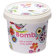BOMB COSMETICS body polish milk and honey 375g - Body Scrub