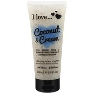 I LOVE… Exfoliating Shower Smoothie Coconut & Cream 200ml - Shower scrub