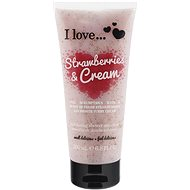 I LOVE... Strawberries & Cream Exfoliating Shower Smoothie 200ml - Shower scrub