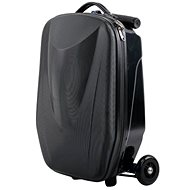 Suitcase Scooter BLACK - Folding Suitcase Scooter