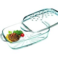 Lamart Glass pan with 3.2l Delica LT3005 lid - Roasting Pan