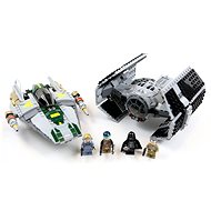 LEGO Star Wars 75150 Vader's TIE Advanced vs. A-Wing Starfighter - Building Kit