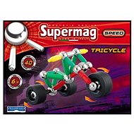 SUPERMAG - Tricycle - Magnetic Building Set