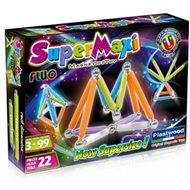 SUPERMAG - SuperMaxi Fluo - Magnetic Building Set