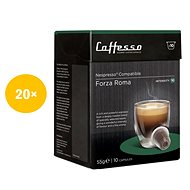 Caffesso Forza Roma CA200-FOR - Coffee Capsules