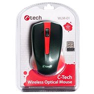 C-TECH WLM-01 red - Mouse