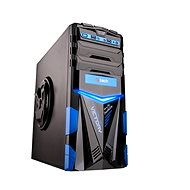 C-TECH ARES Black/Blue - PC Case