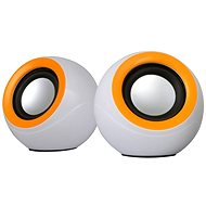 OMEGA Probe 2.0, 6W, White-orange - Speakers