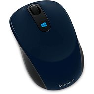 Microsoft Sculpt Mobile Mouse Blue - Mouse