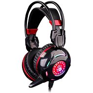 Bloody A4tech G300 black - Headphones with Mic