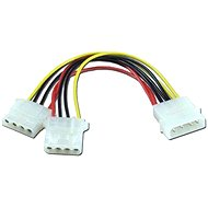 """power from 1x 5.25 """"to 2x 5.25"""" 4kabl. - Extension Cable"""