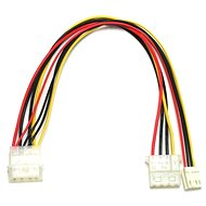 """Power of 1x 5.25 """"to 1x 5.25"""" and 1x 3.5 """"4kabl. - Extension Cable"""