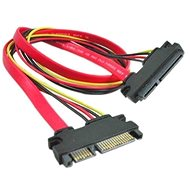OEM SATA Data/Power Extension Cable 0.5m - Data cable