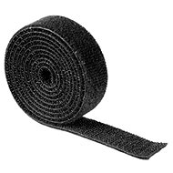 Universal pulling tape 1m black - Cable Management