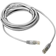 DATACOM Patch cord CAT5E UTP 0.5 m white - Network Cable