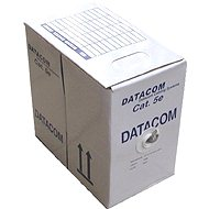 Datacom, wire, CAT5E, UTP, outdoor, 305m / box - Network Cable