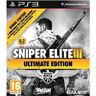 Sniper Elite 3 Ultimate Edition - PS3 - Console Game