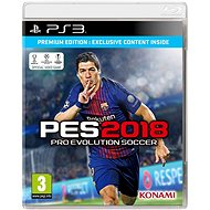 Pro Evolution Soccer 2018 Premium Edition - PS3 - Console Game