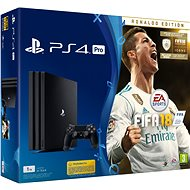 Sony PlayStation 4 Pro 1TB + FIFA 18 Ronaldo Edition - Game Console