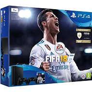 Sony PlayStation 4 1TB + FIFA 18 + extra DualShock 4 - Game Console