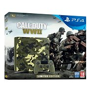 PlayStation 4 1TB Slim - Call of Duty: WWII Limited Edition - Game Console
